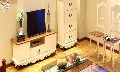 Thiết kế kệ tivi treo tường phòng khách đẹp ấn tượng
