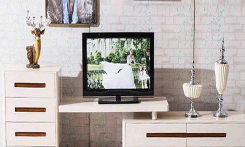Thiết kế mẫu kệ tivi phòng khách sang trọng thông minh