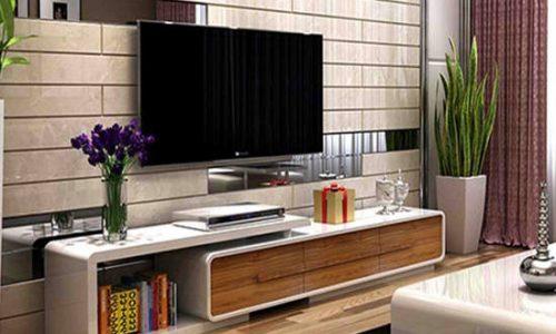 Vì sao bạn nên chọn kệ tivi treo tường gỗ công nghiệp?