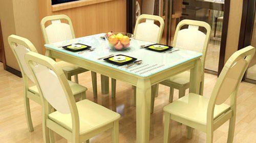 Mẫu bàn ăn hiện đại xu hướng mới cho mọi gia đình