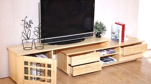 Tủ tivi phòng khách sang chảnh hiện đại