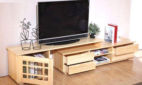 2 mẫu kệ tivi treo tường phòng khách cháy hàng cuối năm