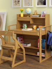 Bàn học gỗ tự nhiên cho bé - GHS-4394