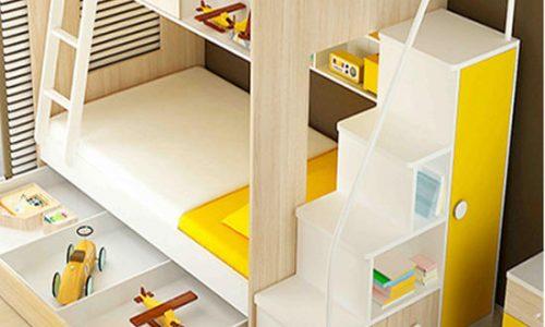 Một số mẫu giường tầng đẹp và tiện lợi dành cho bé