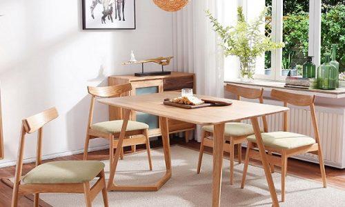 Tiết lộ 5 mẫu bàn ghế gỗ lý tưởng cho căn bếp gia đình