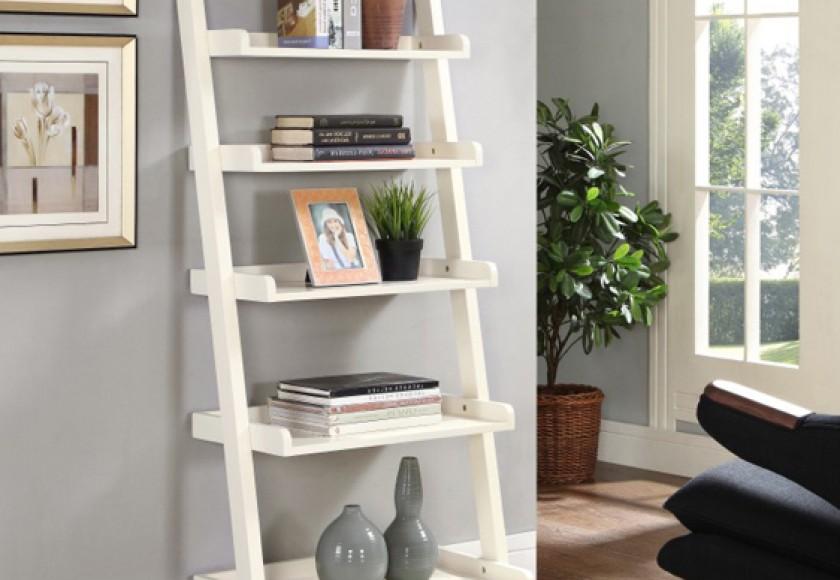 kệ trang trí phòng khách, kệ gỗ trang trí