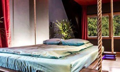 Không gian phòng nhỏ với giường xếp đa năng hoàn hảo
