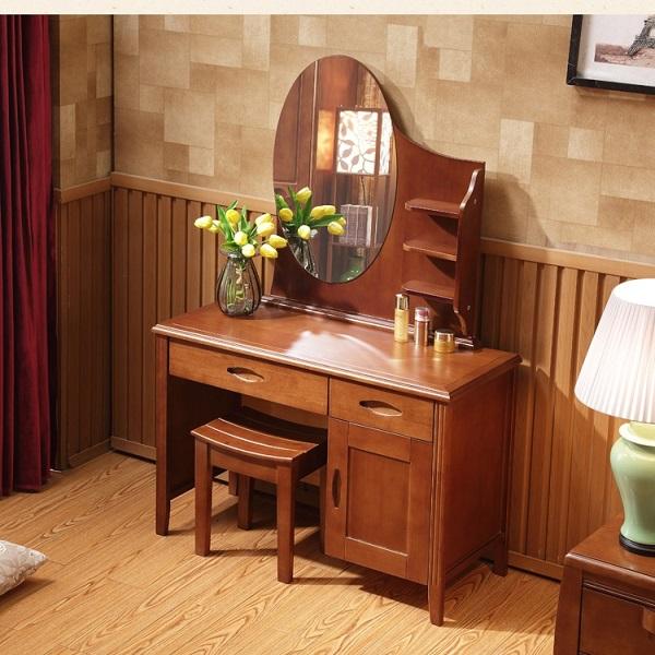 15 mẫu bàn trang điểm gỗ đẹp lạ cho bạn tham khảo