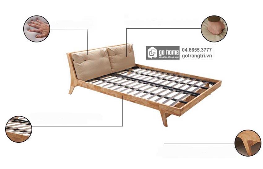 giường ngủ hiện đại, kích thước giường ngủ