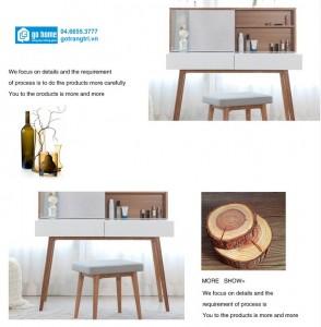 Mẫu bàn trang điểm gỗ
