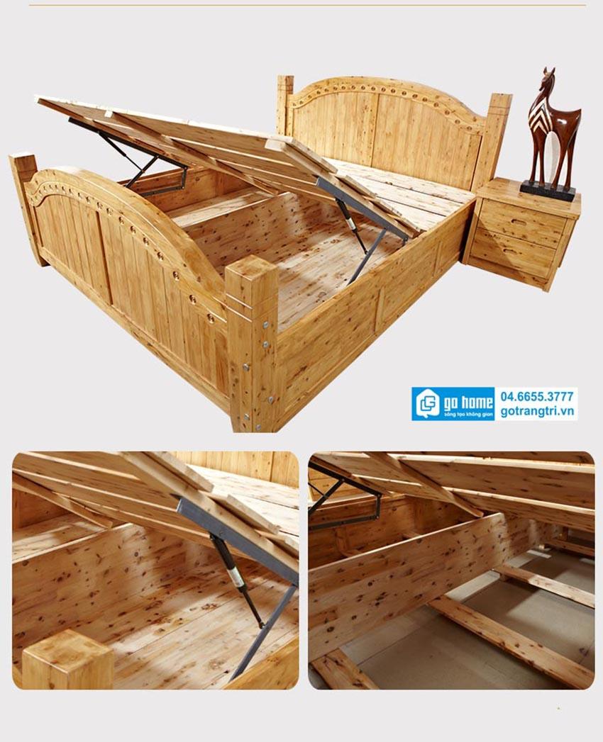 kết cấu giường ngủ hiện đại
