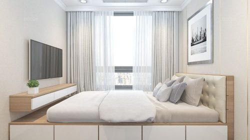 Thiết kế nội thất căn hộ chung cư 75m2 nhà chị Giang - Goldmark City