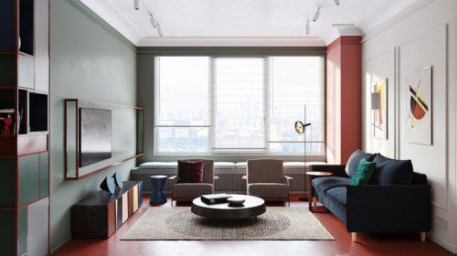 Thiết kế nội thất chung cư nhà anh Hoàng - Home City