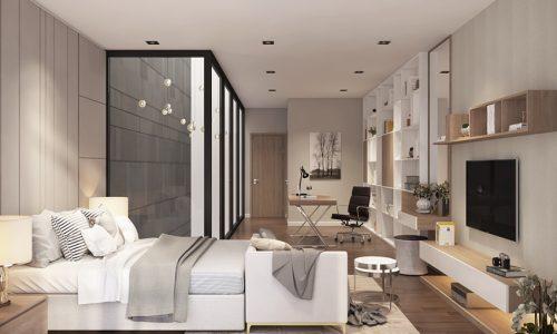 Thiết kế nội thất cho nhà anh Lương - Dương Nội