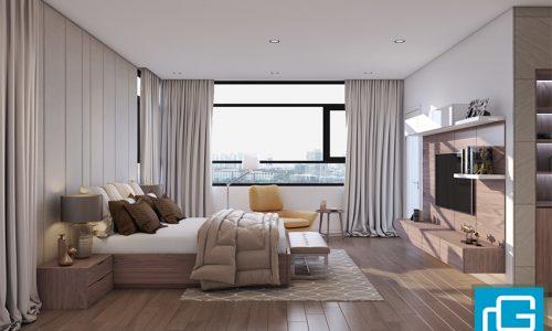 Thiết kế nội thất cho căn hộ nhà chị Lan - Hà Đông