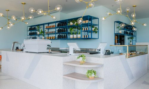 Thiết kế quán cafe, đồ ăn nhẹ của chị Hạnh
