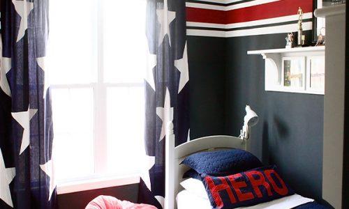 Một số mẫu thiết kế phòng ngủ cho bé trai nổi bật năm 2017
