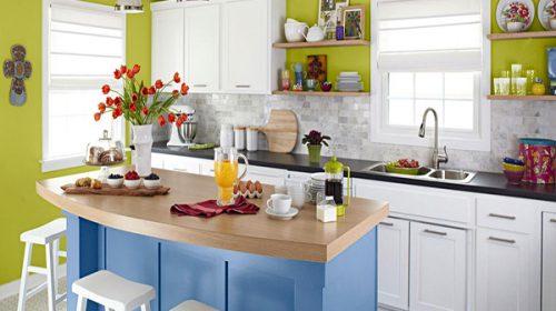 Thiết kế nội thất nhà bếp cho căn hộ 80m2
