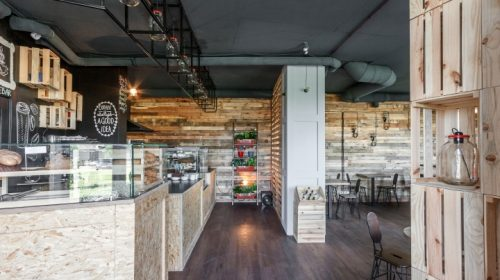 Thiết kế quán cafe phong cách Retro ấn tượng tại Gia Lâm