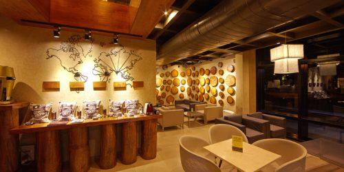 Thi công quán cafe phong cách tối giản của chú Hoạt - Hà Nam