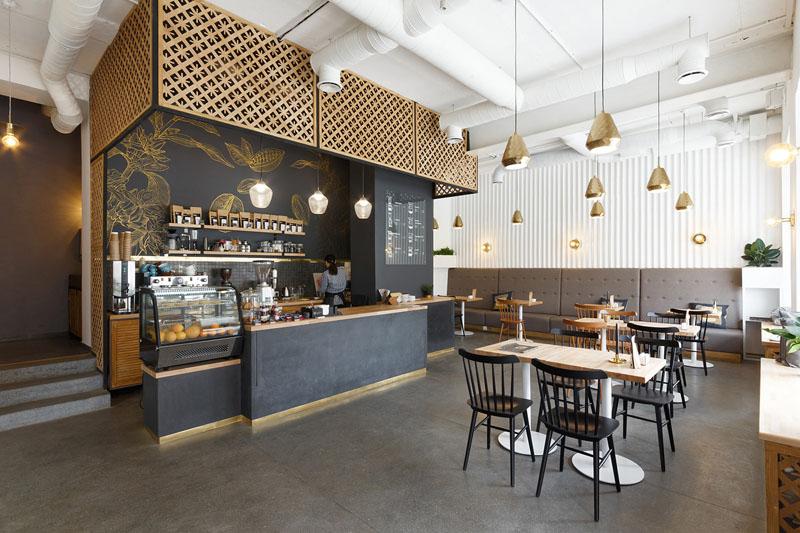 thiết kế quán cafe có diện tích nhỏ