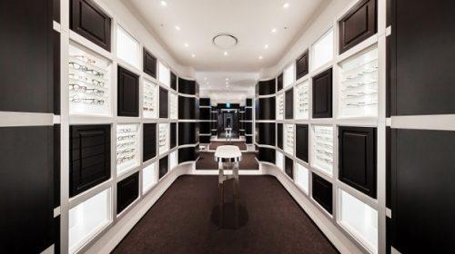 Thiết kế nội thất showroom kính Trend - Hải Phòng