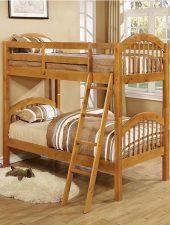 Giường ngủ tầng cho bé gỗ thông GHC-905
