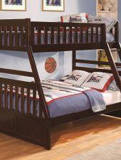 Giường tầng cho bé gỗ thông GHC-907