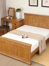 Giường ngủ gỗ sồi Mỹ cao cấp GHC-920
