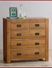 Tủ 5 ngăn kéo gỗ sồi Mỹ GHC-525