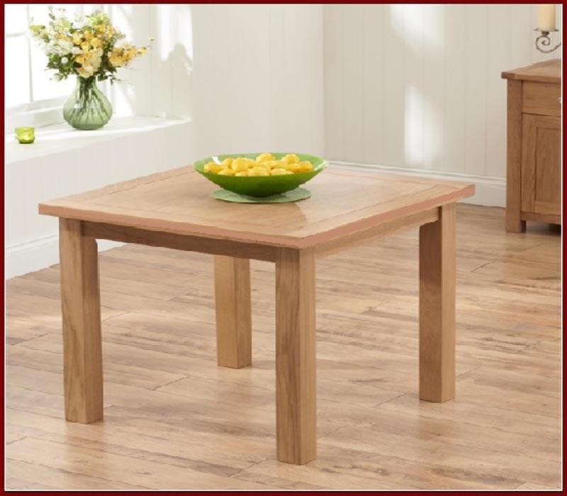 Bàn ăn gỗ sồi GHC-419với thiết kế hiện đại đậm chất sang trọng với những đường nét tinh tế và tỉ mỉ