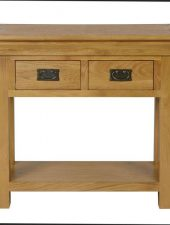 Bàn trang trí gỗ sồi Mỹ xuất Châu Âu GHC-409