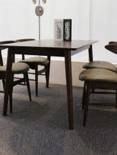 Bộ bàn ăn Lunar Walnut trang nhã GHC-4119