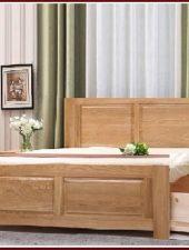 Giường ngủ gỗ sồi 2 ngăn kéo GHC-926