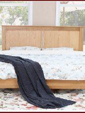 Giường ngủ gỗ sồi xuất khẩu Châu Âu GHC-925