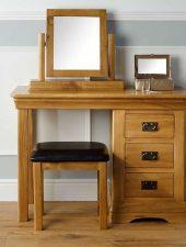 Set bàn làm việc 3 món gỗ sồi Mỹ GHC-410
