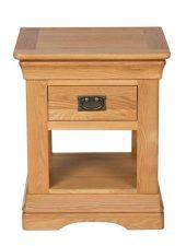 Tab đầu giường 1 ngăn gỗ sồi xuất Châu Âu GHC-511