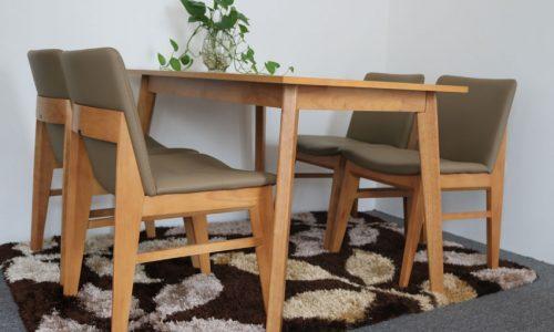 Go Home - ưu đãi tháng 10 giảm giá cực lớn với bộ bàn ăn edit natural GHC-4113