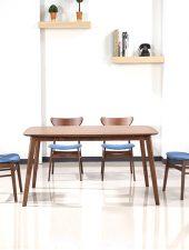 Bộ bàn ăn hiện đại gỗ tự nhiên GHS-4332 (Sao chép)