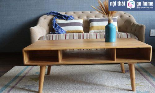 Giảm giá sốc tháng 10 với mẫu bàn sofa hiện đại tại Go Home