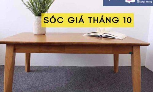 Ưu đãi tháng 10, giảm giá sốc mẫu bàn sofa hiện đại GHC-4100 tại Go Home
