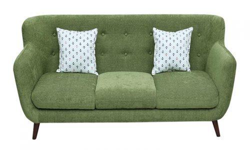 Adayroi- tặng mã giảm giá 35% khi mua văng sofa nỉ xanh rêu hiện đại