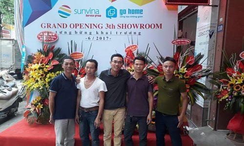 Khai trương cửa hàng nội thất Go Home thứ 3 tại Hà Đông - Hà Nội