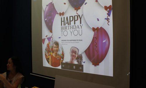 Tiệc mừng sinh nhật thành viên Sunvina