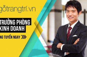 Sales Manager ⚡ Trưởng phòng kinh doanh nội thất tại Hà Nội 2017
