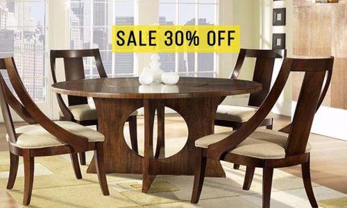 Sốc giá tháng 9: giảm giá 30% bộ bàn ăn Pedestal và ghế Slipper cao cấp tại Adayroi