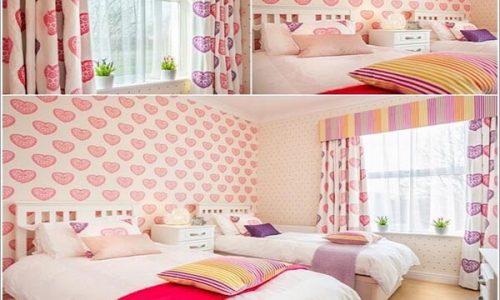 Làm sao để sắp xếp hai giường đơn cho phòng ngủ nhỏ