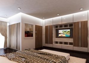 Thi công nội thất villa nhà anh Trung - Long Biên