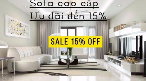 Chia sẻ mã giảm giá 15% mẫu sofa Ocean Jang In hiện đại với giá cực ưu đãi