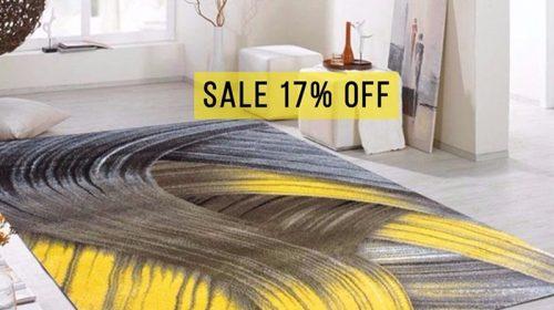 Sốc giá cuối tháng 9: giảm giá 17% khi mua thảm trải sàn tại Go Home